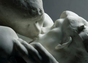 Le baiser (détail) - Auguste Rodin